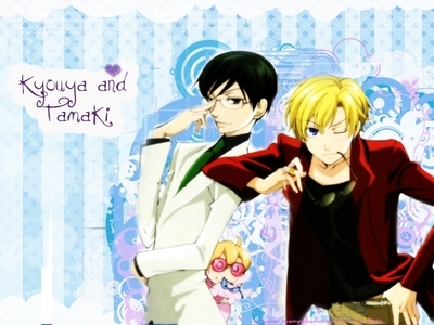 ~Kyouya thought i couldn't find a picture on my computer just of him and without Tamaki XD