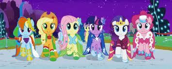 Even though they aren't human, I must say any of the mane six X3 I don't really watch much কার্টুন other than this and like Spongebob occasionally, so I wouldn't know any human cartoon characters.
