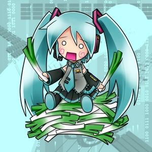 cuz im a big অনুরাগী of hatsune miku and i was born in 1999 hatsunemiku1999 ^^ thats her but thats hatcune miku হাঃ হাঃ হাঃ