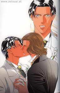 kato and iwaki's wedding 吻乐队(Kiss)
