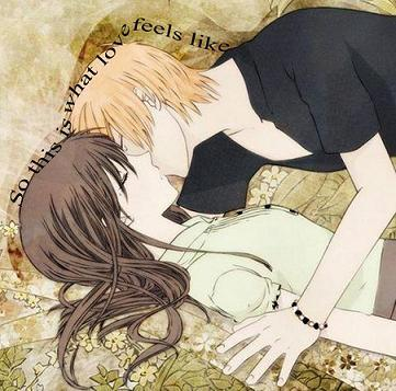 Tohru and Kyo from Fruits Basket <3