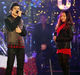 how about David Archuleta and Charice Pempengco????