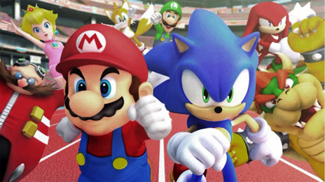 please join my club Mario and sonic at the summer Olympics ...