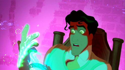 Eric + aladdin = Naveen??