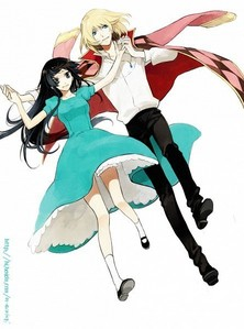 Post pics of the most ROMANTIC COUPLE in anime...