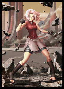 Who is your 最喜爱的 character that's name is Sakura?