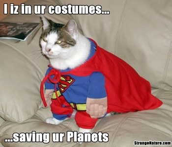 if Du could become super hero....