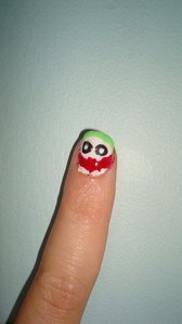 Do like like having the joker on ur nail?