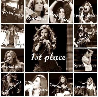 Post the best pic of Demi from her concerts ! Winners-;