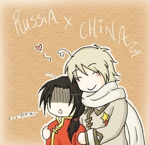 what Hetalia couple do wewe kinda like russia x china au germany x italy?