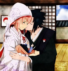 post a romantic and cute pic of ur kegemaran Anime couple?