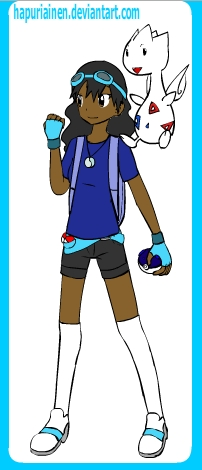 how to make yourself look like a pokemon trainer