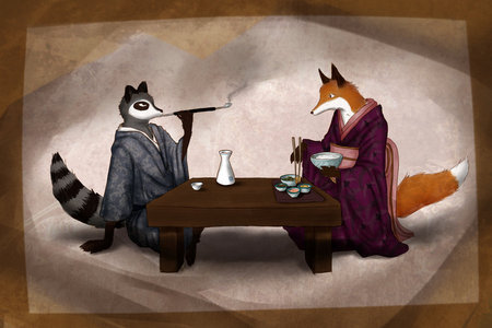 foxs of racoons?