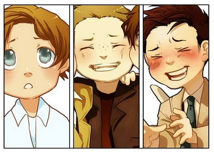 post a picture of chibi supernatural!