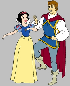 What is the name of Snow Whites prince and why was it not mentioned in the Film?
