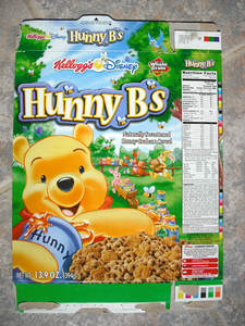 do you remeber a kellogg s called hunny b s it had winnie the pooh