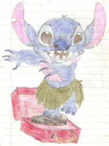 What do ya think of my Stitch drawing?