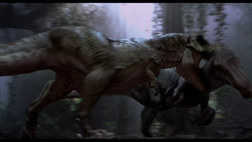 I can't decide weather to be a T-rex or a Spinosaurus altough I think both of them are cool. Give me the advantages and disadvantages of bieng a T-rex and do the same thing for Spinosaurus.