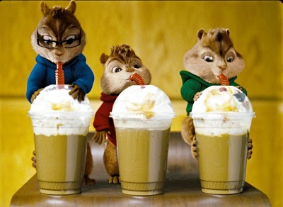 Why are the chipmunks drinking coffee?