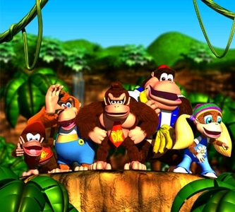 """The Donkey Kong featured in the original """"Donkey Kong"""" is ..."""
