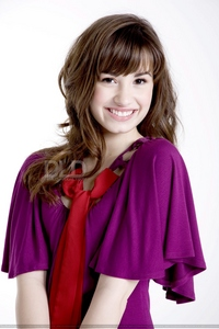 Post a pic of Demi wearing anything purple...!!