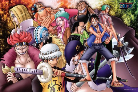 who's strong? Captain Kid atau Luffy?