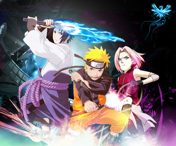 post a cool pic of sasuke naruto ou sakura ou all animé réponses