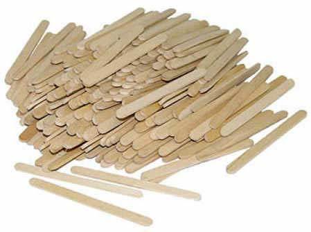 What can آپ make with opopcicle sticks?