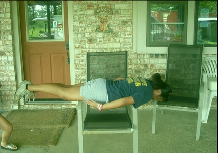 Do any of te plank?