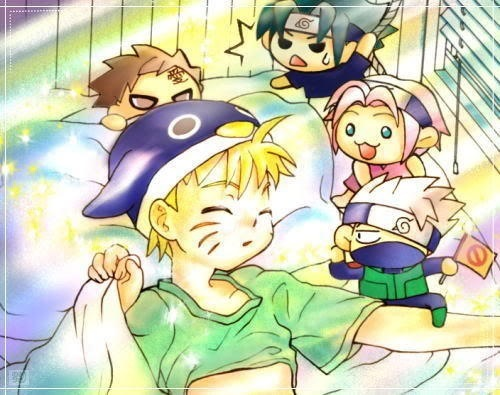 Post a picture of your favorit anime character in little kid form!