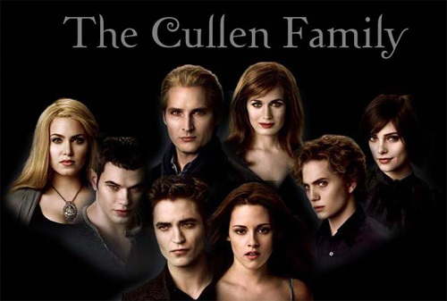 I want my family to be as close as the Cullens are!