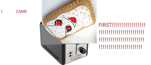 WHICH CAME FIRST.........THE pembakar roti atau THE POPTART????? >:(