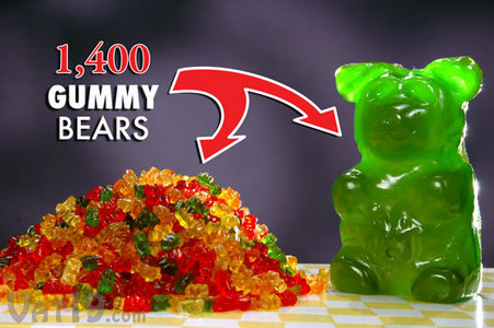 Did heard of giant gummy bär oder gummy worm