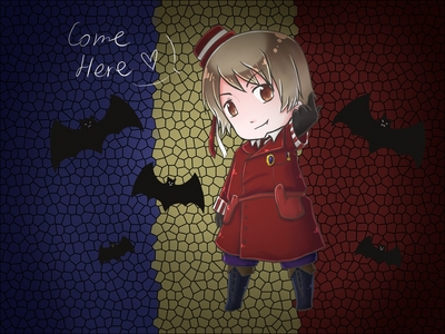 Post a picture of Romania from Hetalia...