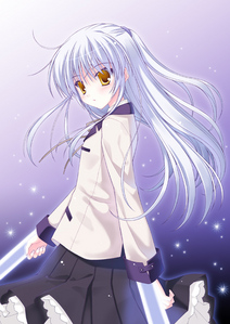 Post a pic of an anime girl with white hair