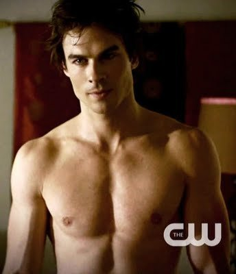 post pic of Damon Salvatore shirt off 1st place won 10 props 2nd 5 props 3 win 2 props