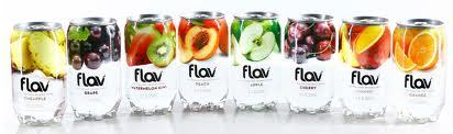 """Where can I find """"Flav Water""""?"""