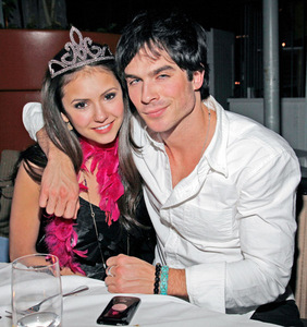 post your fav pic for ian and nina off the set i will give リスペクト