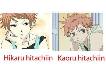 who do u like most? Hikaru/Kaoru..
