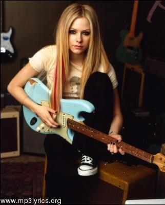 Avril with a guitar. - Avril Lavigne Answers - Fanpop
