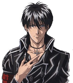 post an anime person with black hair and either green or blue eyes