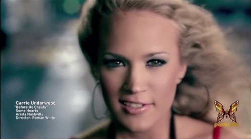 "Post The Prettiest Picture Of Carrie In Her Музыка Video ""Before He Cheats"""