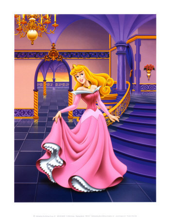 My friend and I are both being Disney's Sleeping Beauty. She's the blue dress and I'm going to be the pink. My hair is almost there. It's blonde, has bangs, just needs to grow a bit more. And I already have my hot розовый corset :)