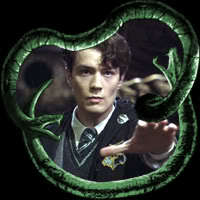 Tom Riddle/Voldemort!!! Cuz he is evil... I like Evil people. XD