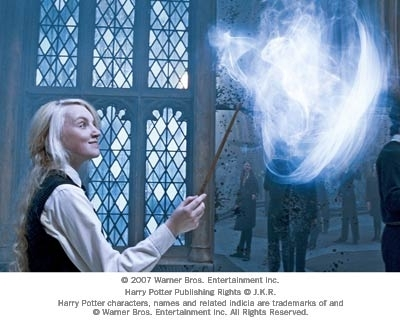 I like Luna Lovegood because she has is quirky air about her that I just love, plus her patronus is a rabbit which I love! Plus she doesn't seem to get down, she seems to be always moderately happy at the least.