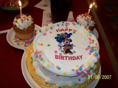 Happy bIrthday here's a cake!