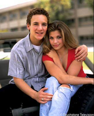 Topanga and Cory from Boy Meets World :D