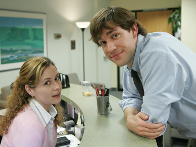 jam, jamu from The Office. :) (Jim and Pam put together)