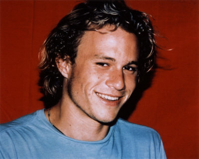 Well..It was Heath Ledger... I still think he's one of the hottest guys of all time.