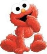 I know I'm even in the Elmo प्रशंसक club!!!!!